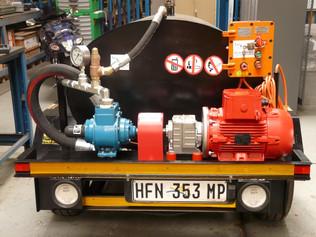 Mobile Hazardous Chemical Pump Station
