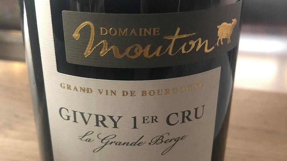 Givry 1er cru La Grande Berge 2017 Domaine Laurent Mouton