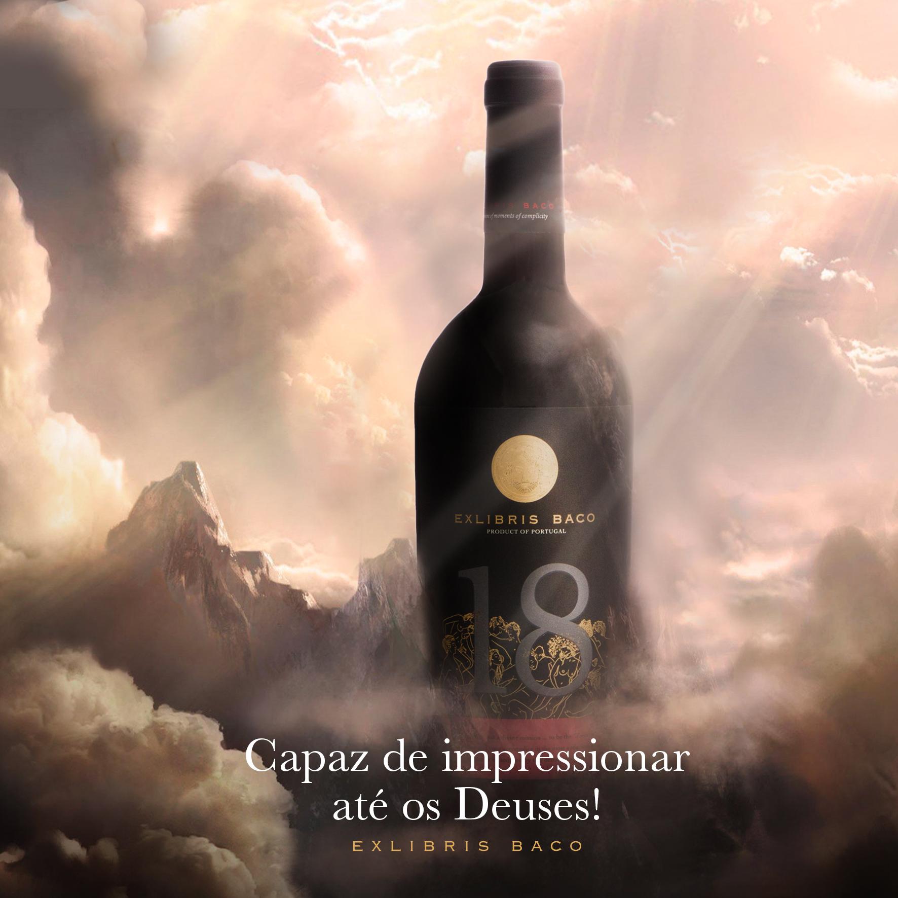exlibrisbaco_Vinho dos Deuses