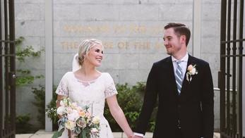Full Wedding Video {SLC Temple}