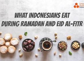 What Indonesians Eat During Ramadan and Eid al-Fitr