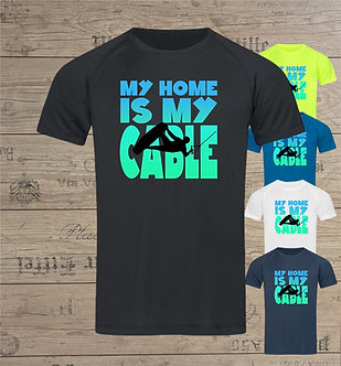 quick-dry Ridershirt MY HOME IS MY CABLE