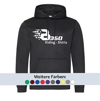 quick-dry Riding Hoodie (großes Logo vorne)