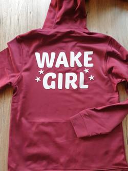 WAKE GIRL Hoodie Wakeboard quick dry