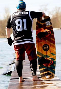B360 Riding-Shirts / quick-dry Wassersport Oberteile für Wakeboarder und Kitesurfer / Trikot Football Basketball Style kann man auch individuell gestalten / Verein Wake Shirt / Jersey / Ridershirt für Wettkampf