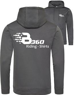 SALE!!! windabweisender quick-dry Riding Hoodie grau Backprint