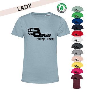 Streetwear T-Shirt Ladies (großes Logo)