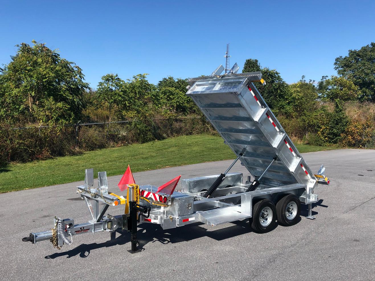 Dump-Pole-Cargo-Reel w/ LIFETIME WARRANTY MEGA-ROLLER w/ SECURELOCK™