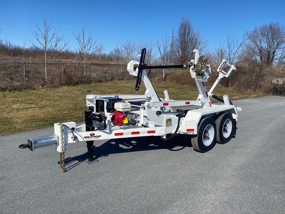 Self-Loading 14,000 LB Reel Trailer w/ PINLESS POWERLOCK™ and Cargo Deck