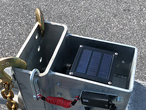 PROTECTED SOLAR BREAKAWAY- HITCH GUSSET