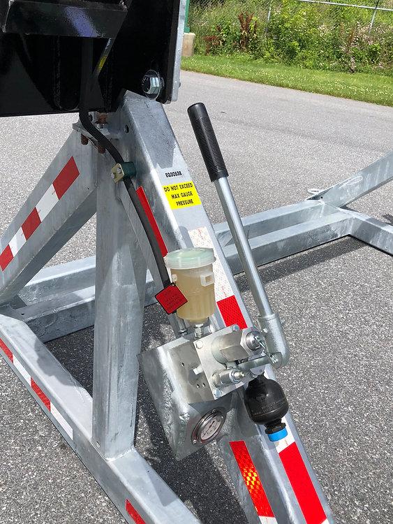 Nitrogen Charged Fine-Metering Brake Man