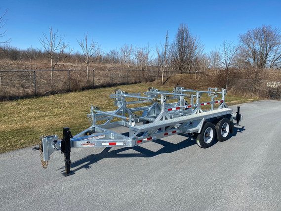 Triple Reeler w/ Custom Catwalk and Front Neutral Reel Stand