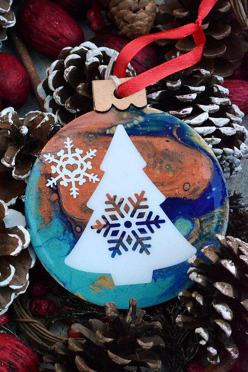 Snowflake Tree - Christmas Ornament