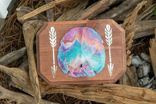 Arrowhead Sand Dollar Art