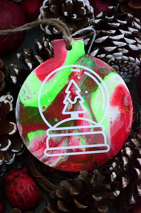 Snowglobe - Christmas Ornament
