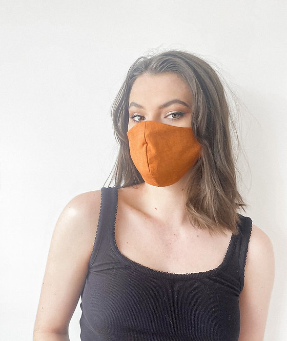 Rust Face Mask