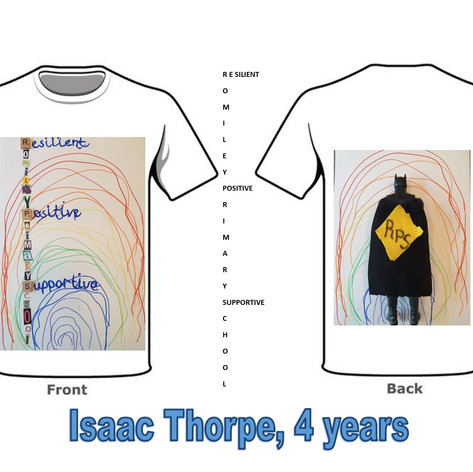 Isaac Tshirt, Nursery