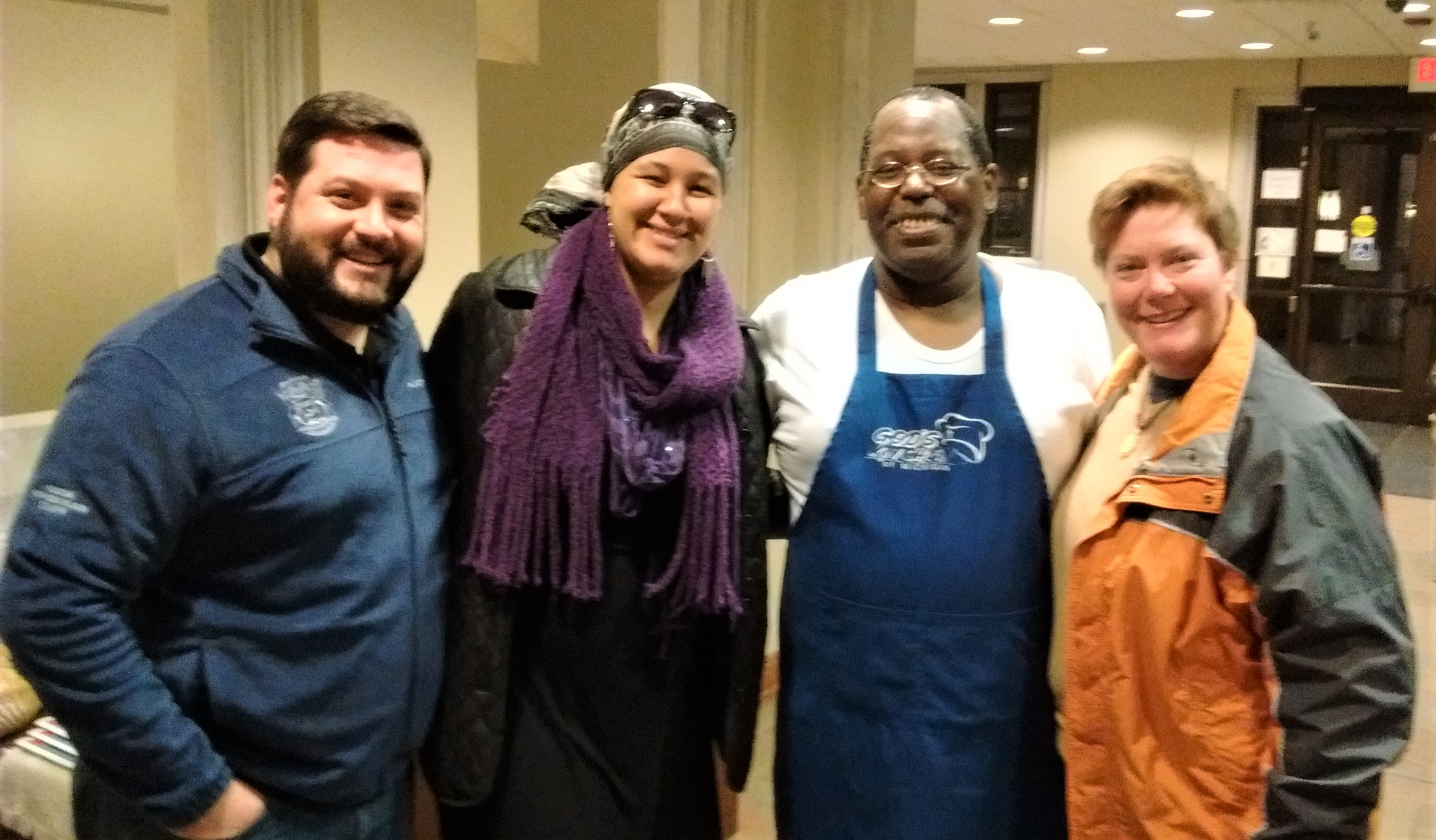 Kzoo Co. & City Officials Volunteer