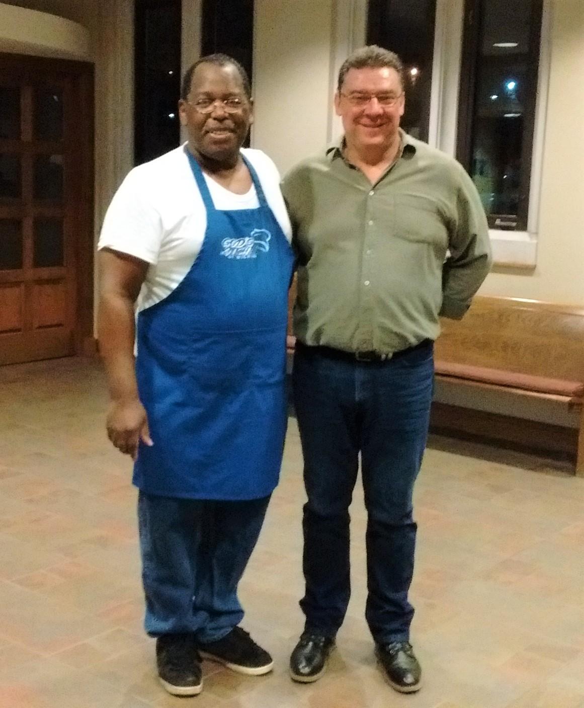 Pastor Stein & Scott Brenner