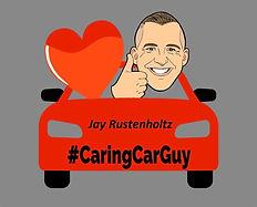 #CaringCarGuy Logo - Small - Jay Rustenh