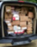 Latvian Camp Garezers Food Donation 8-27