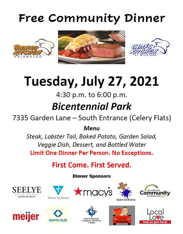 Big Give Menu - Bicentennial Park 7-27-2