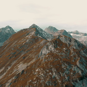 Silberkarsee Berge