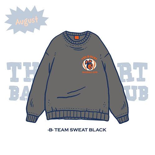 -B- TEAM SWEAT BLACK