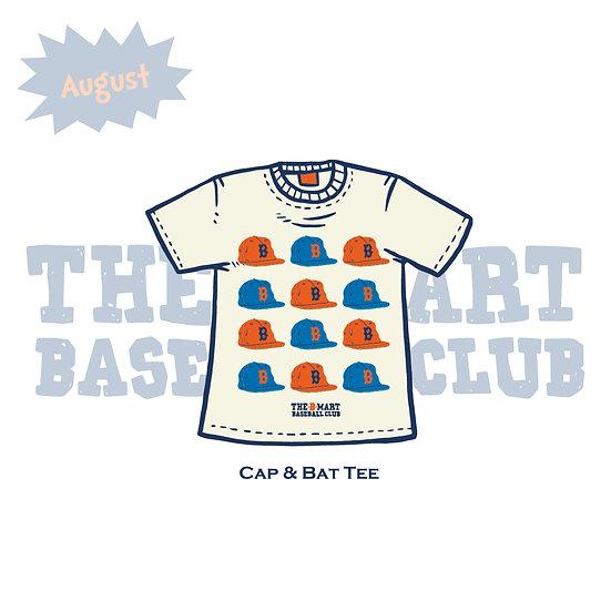Cap & Bat Tee
