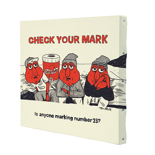CHECK YOUR MARK (410mm×410mm)