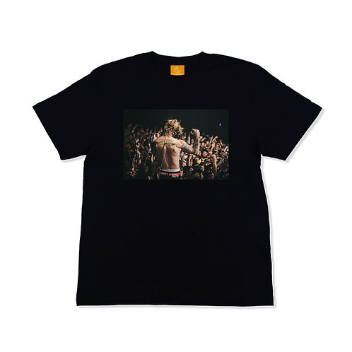 TAKAHIRO TAKINAMI // live!! live!! live!! T-Shirts Black