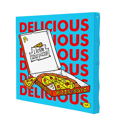 DELICIOUS (330mm×330mm)