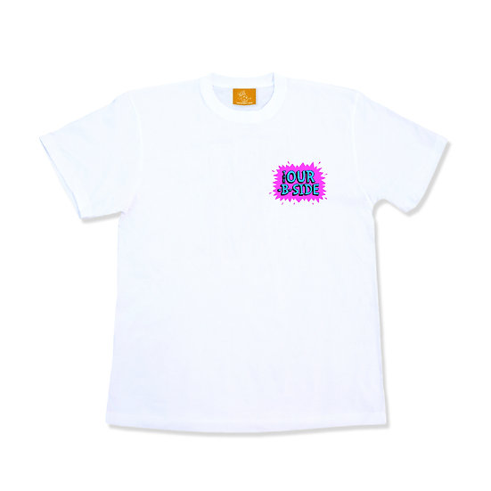 TM paint // THE OUR-B-SIDE T-Shirts White