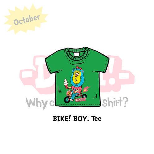 BIKE! BOY. T-SHIRTS