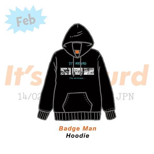Badge Man Hoodie