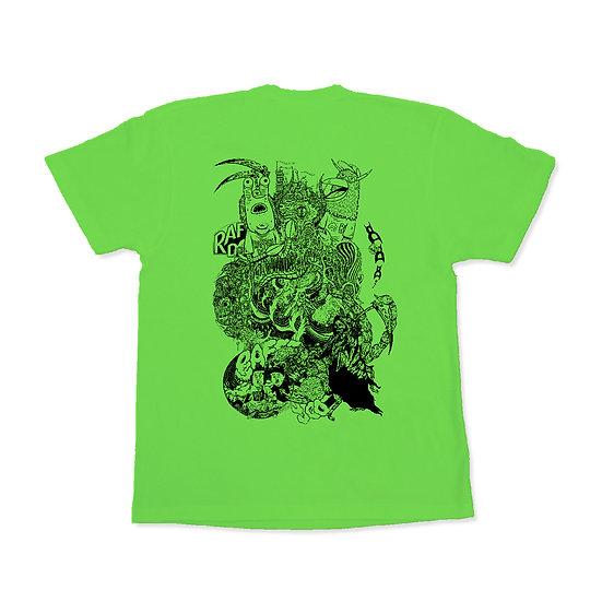 RAFFISH DOG // Fusion T-shirts L.Green