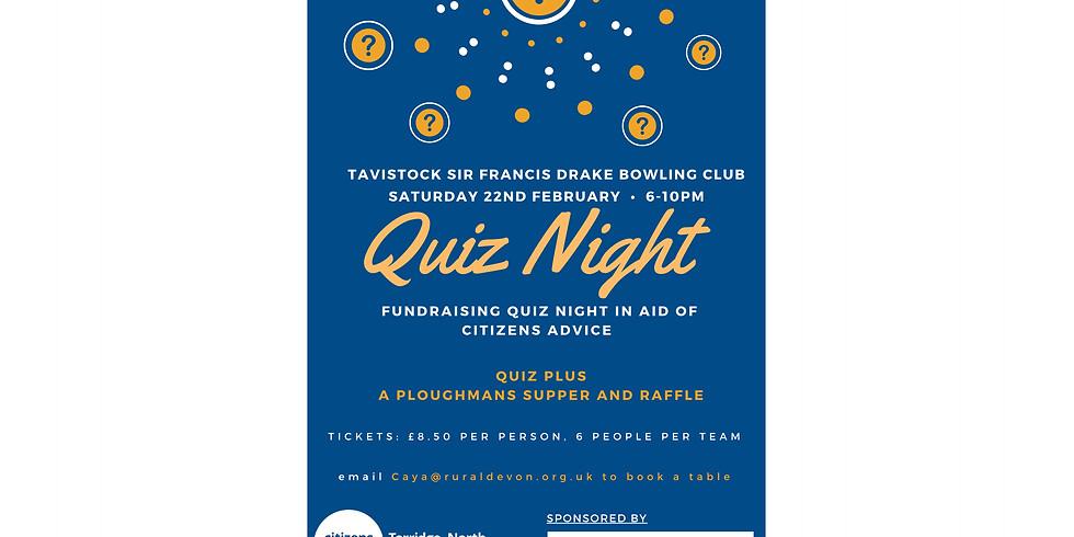 Citizens Advice Tavistock Quiz Night