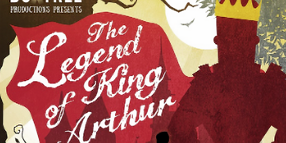 The Legend of King Arthur by Boxtree Productions at The Garden House, Buckland Monachorum