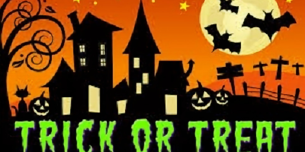 HALF TERM FUN - TRICK OR TREAT TRAIL