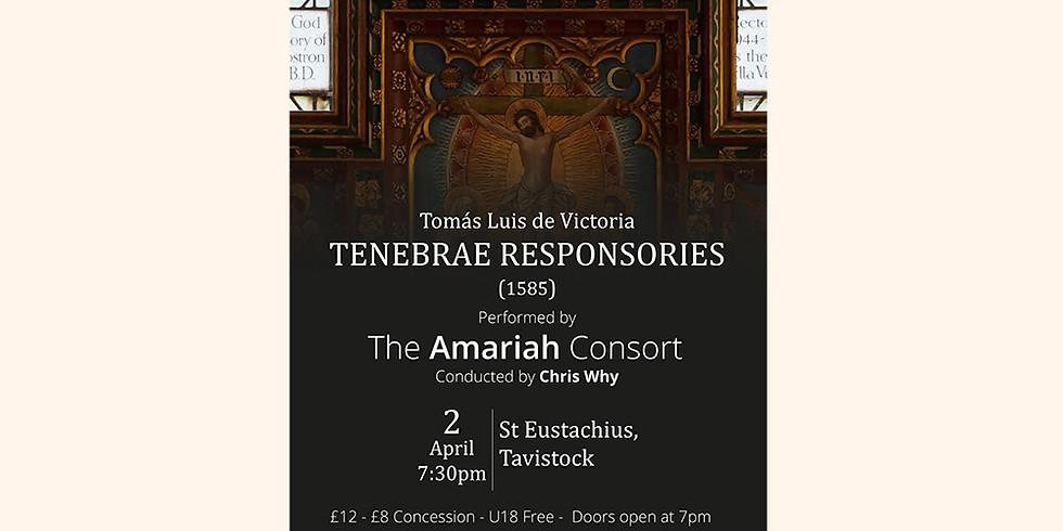 The Amariah Consort: Victoria Tenebrae Responsories