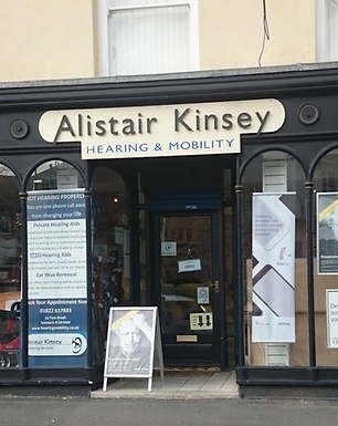 Alistair Kinsey Hearing Mobility