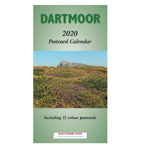 Dartmoor 2020 Postcard Calendar