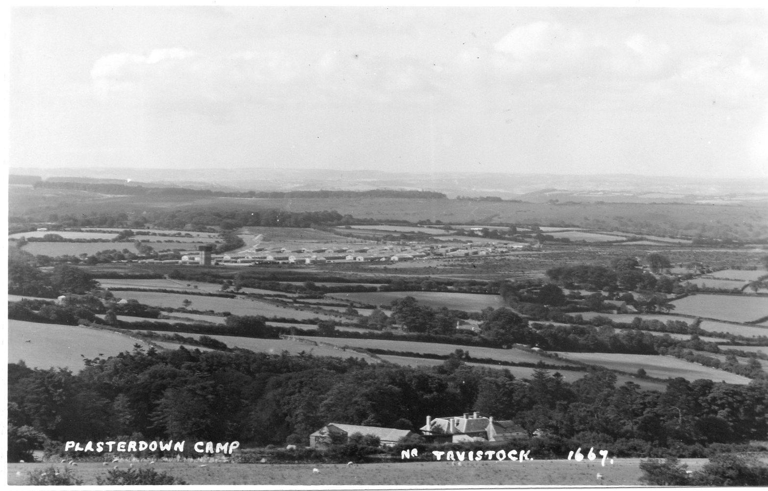 Plasterdown Camp Nr. Tavistock 1667