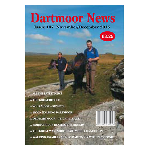 Two year subscription of Dartmoor News