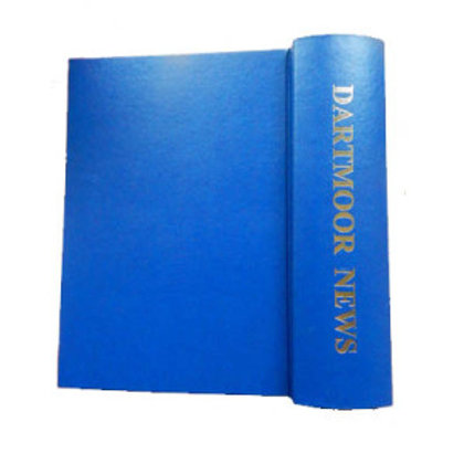 Dartmoor News Magazine Binder (Blue)
