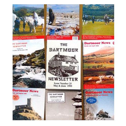 Dartmoor News Index (Download)