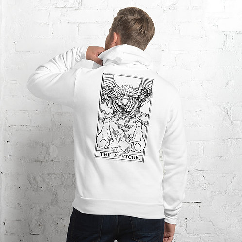 The Saviour - White Unisex hoodie