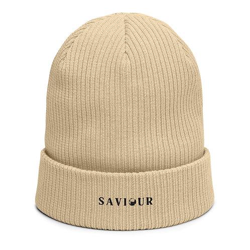 SAVIOUR - Organic Ribbed Beanie (Sand)