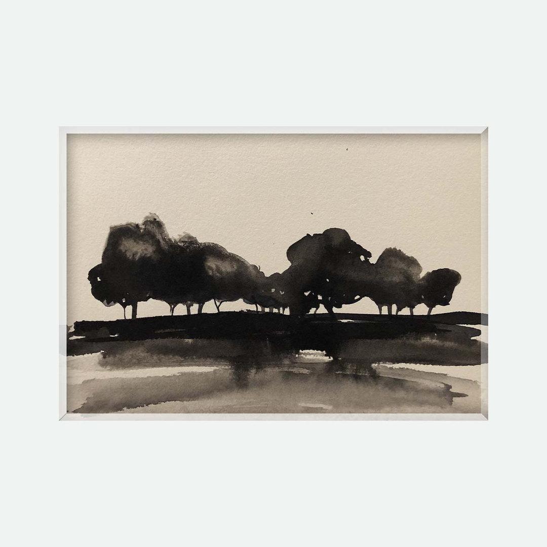 40X25 cm - Forêt noire
