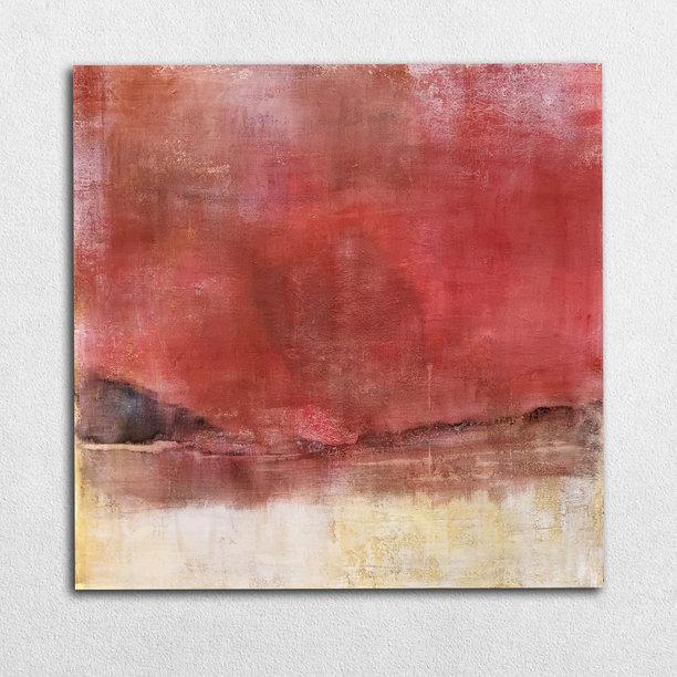Paysage rouge